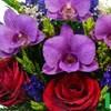 Композиция из роз и орхидей (арт. ESM-02)