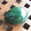 Нефритовое яйцо 4,5 х 3,4 см с отверстием. Россия, Саяны - фото 97065