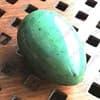 Нефритовое яйцо - 3,5 см. с отверстием. Россия - Саяны - фото 97088