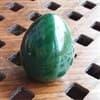 Нефритовое вагинальное яйцо для Вумбилдинга- тренировки интимных мышц - фото 97096